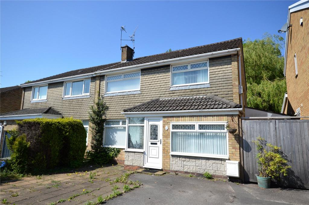 3 Bedrooms Semi Detached House for sale in Mountbatten Close, Cyncoed, Cardiff, CF23