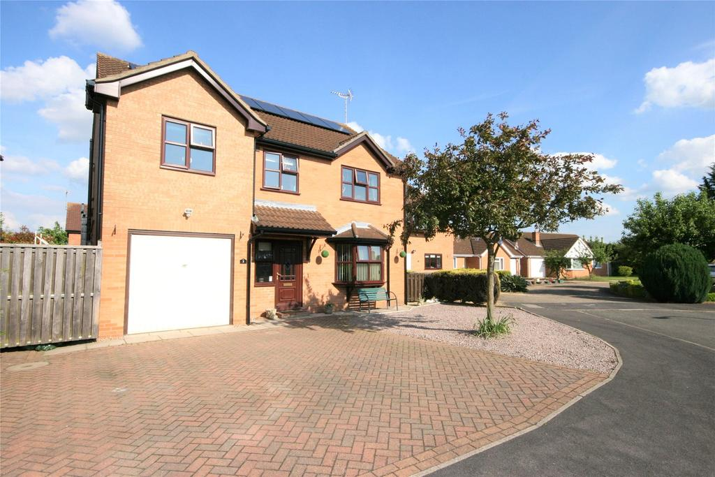 4 Bedrooms Detached House for sale in Hoekman Drive, Spalding, PE11