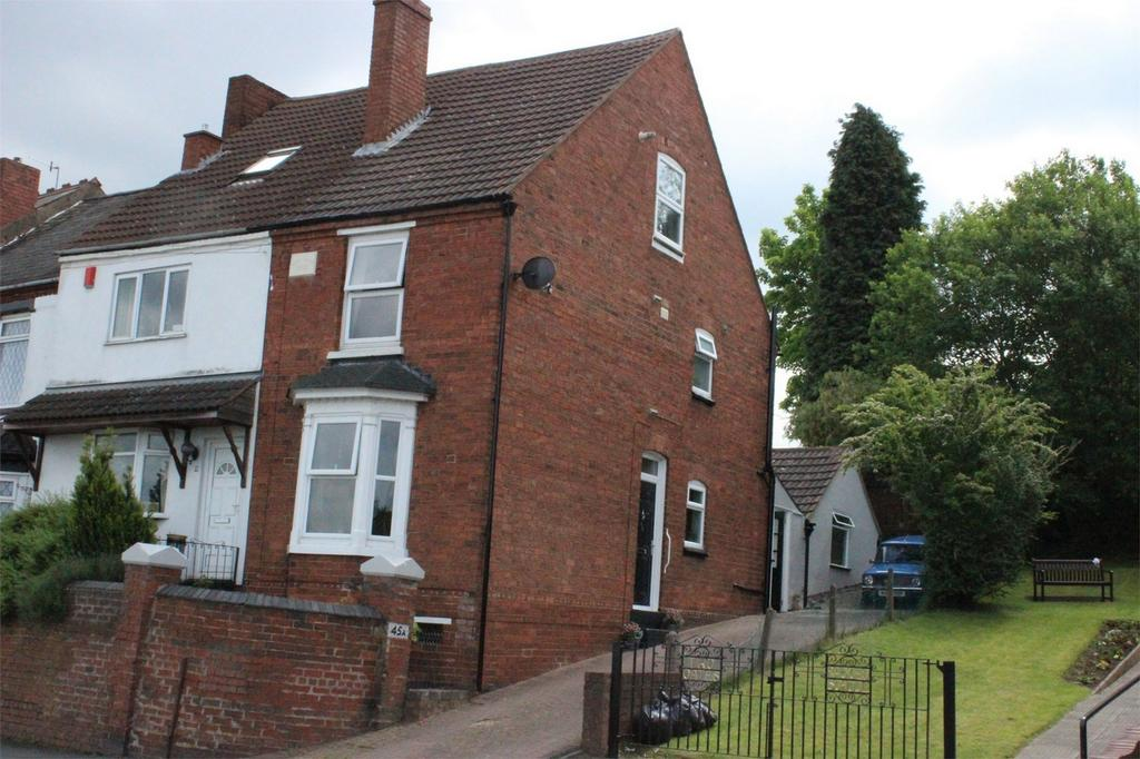 2 Bedrooms End Of Terrace House for sale in 45a Two Gates, HALESOWEN, West Midlands