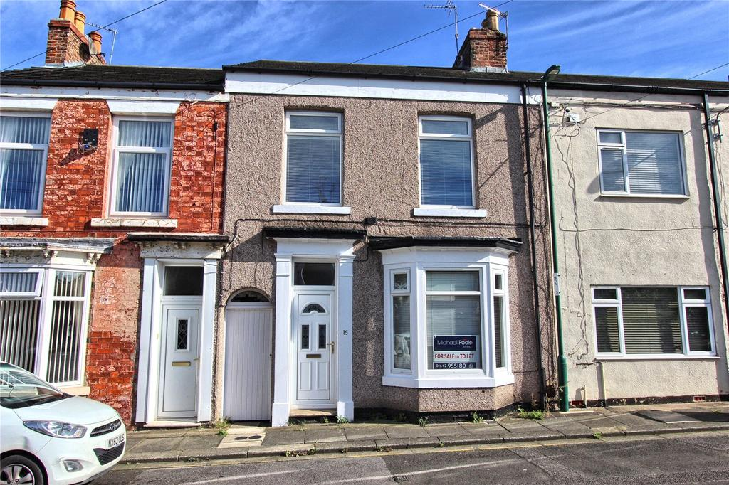 3 Bedrooms Terraced House for sale in Hewley Street, Eston