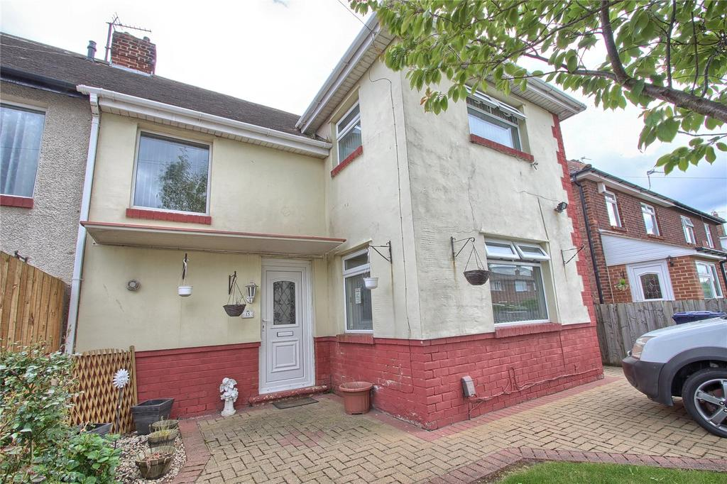 3 Bedrooms Semi Detached House for sale in Thirlmere Road, Redcar