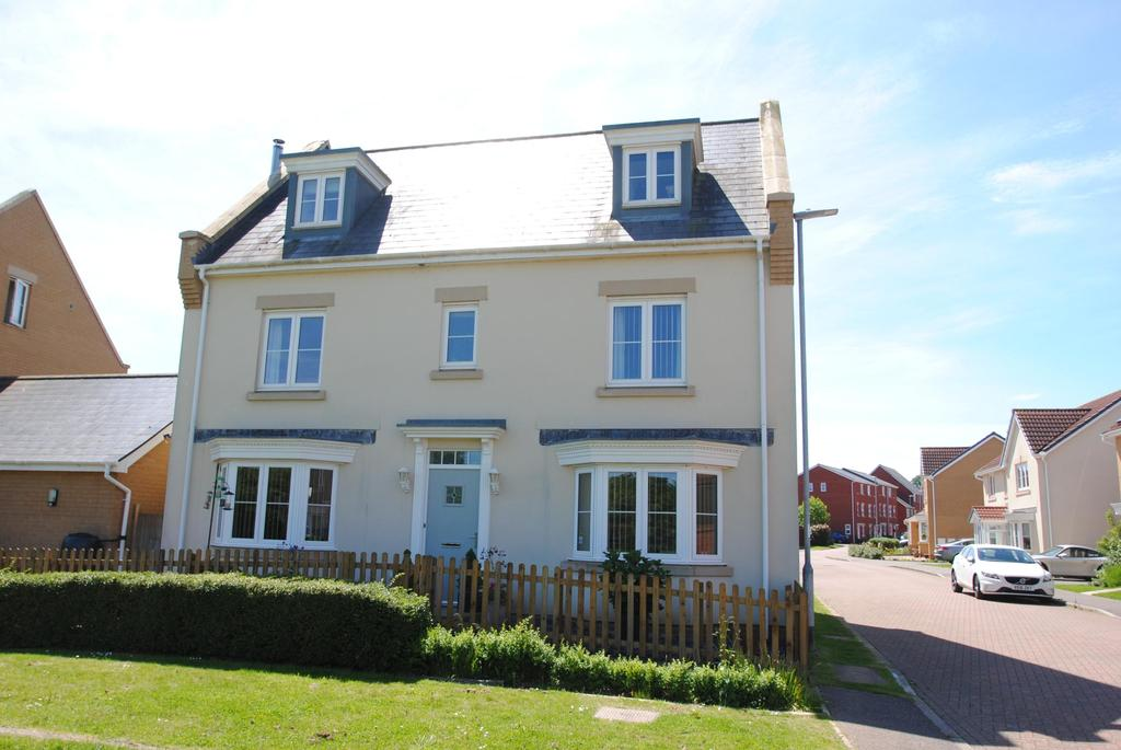 5 Bedrooms Detached House for sale in Bramley Close, Wellington