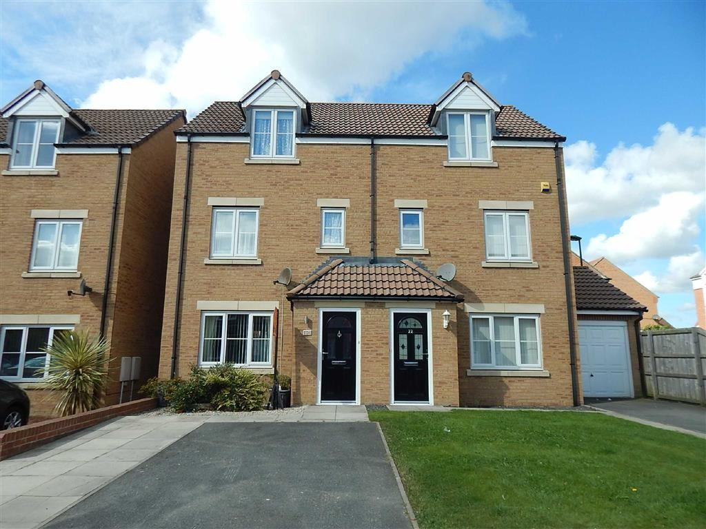 3 Bedrooms Semi Detached House for sale in Walton Gardens, Hadrian Village, Willington Quay, NE28