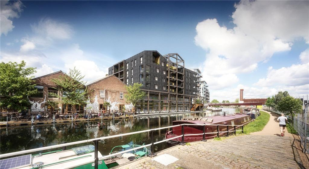 3 Bedrooms Apartment Flat for sale in Carpenters Wharf, Roach Road, E3