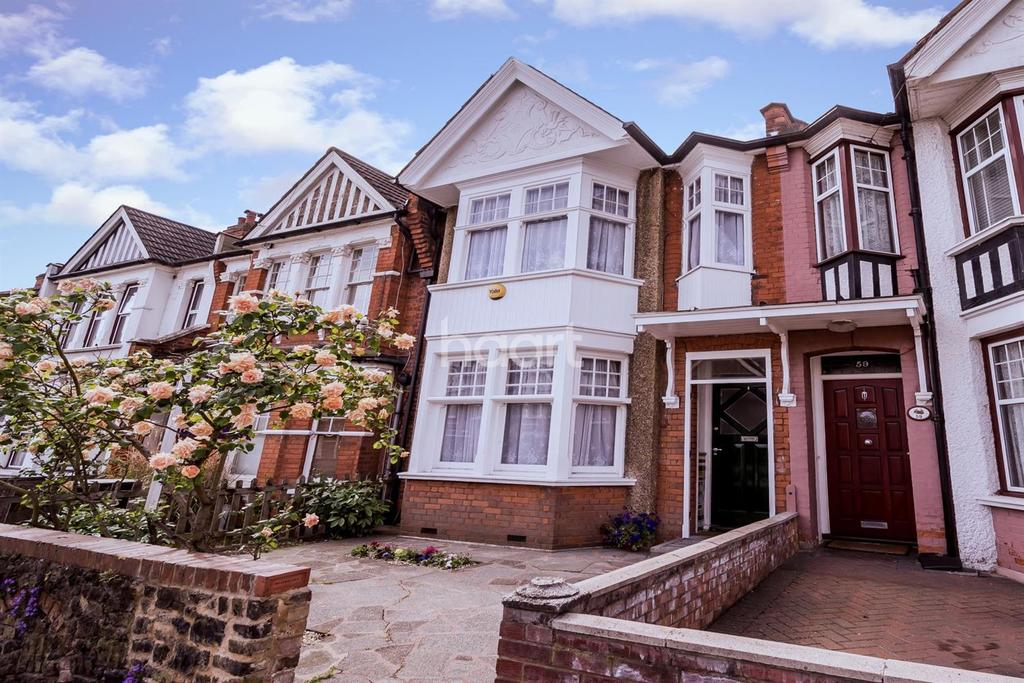 3 Bedrooms Terraced House for sale in Park Avenue, Palmers Green, N13