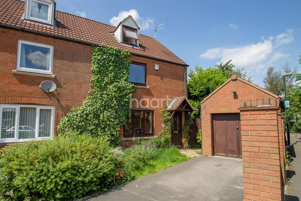 3 Bedrooms Semi Detached House for sale in Arley Close, Abbeymeads, Swindon