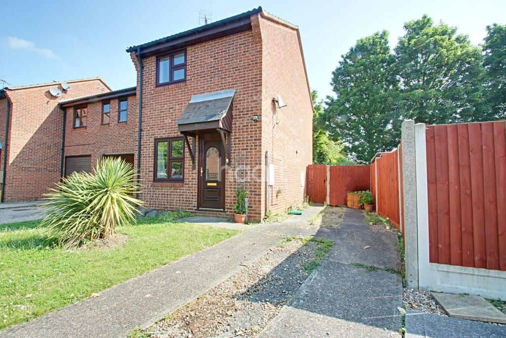 2 Bedrooms End Of Terrace House for sale in Claudius Way, Witham, CM8