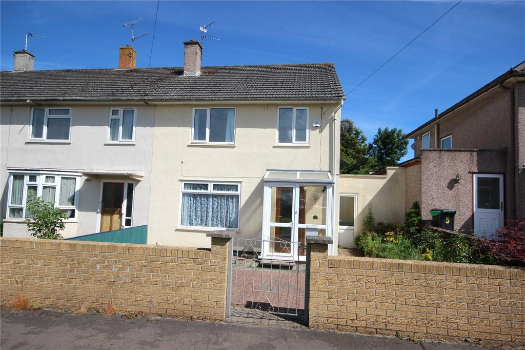 3 Bedrooms End Of Terrace House for sale in Stoulton Grove, Bristol, BS10
