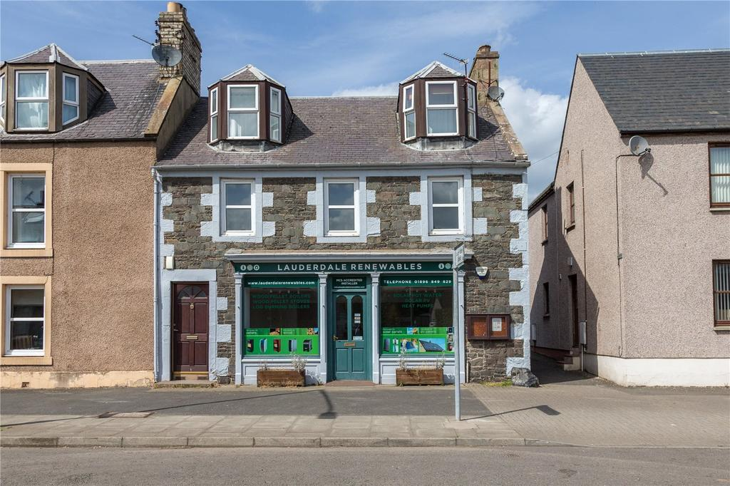 3 Bedrooms Apartment Flat for sale in The Old Post Office, High Street, Earlston, Berwickshire