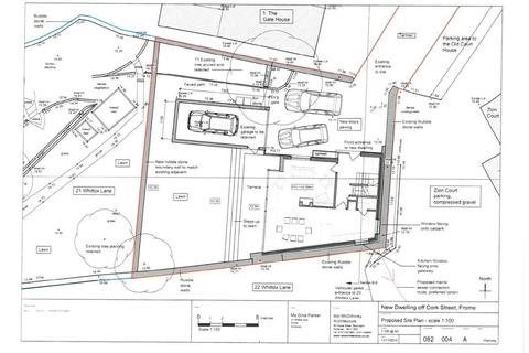 Plot for sale - Cork Street, Frome