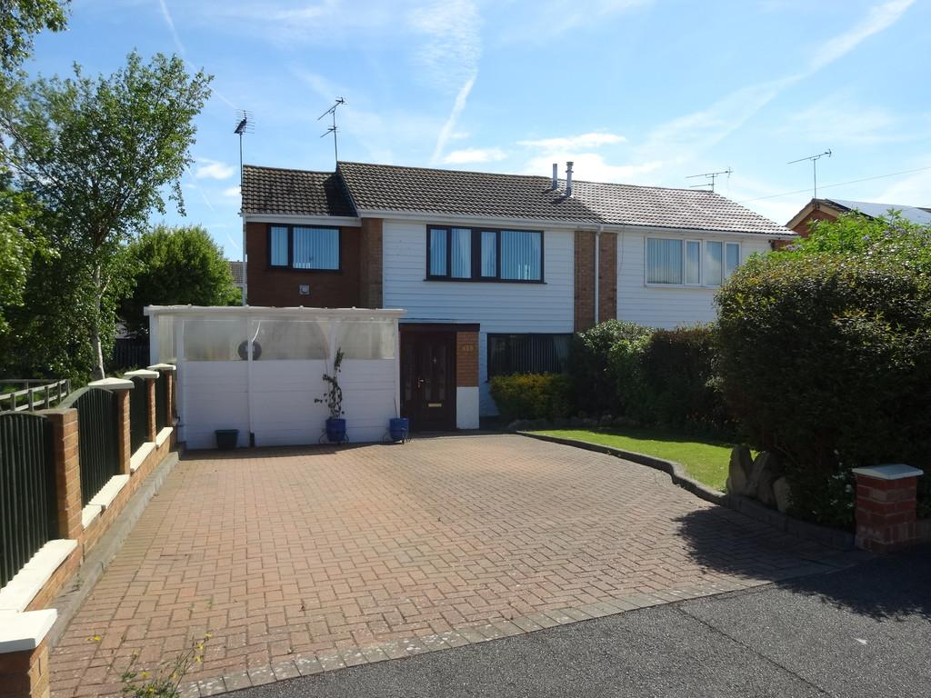 4 Bedrooms Semi Detached House for sale in Maes Llewelyn, Rhyl