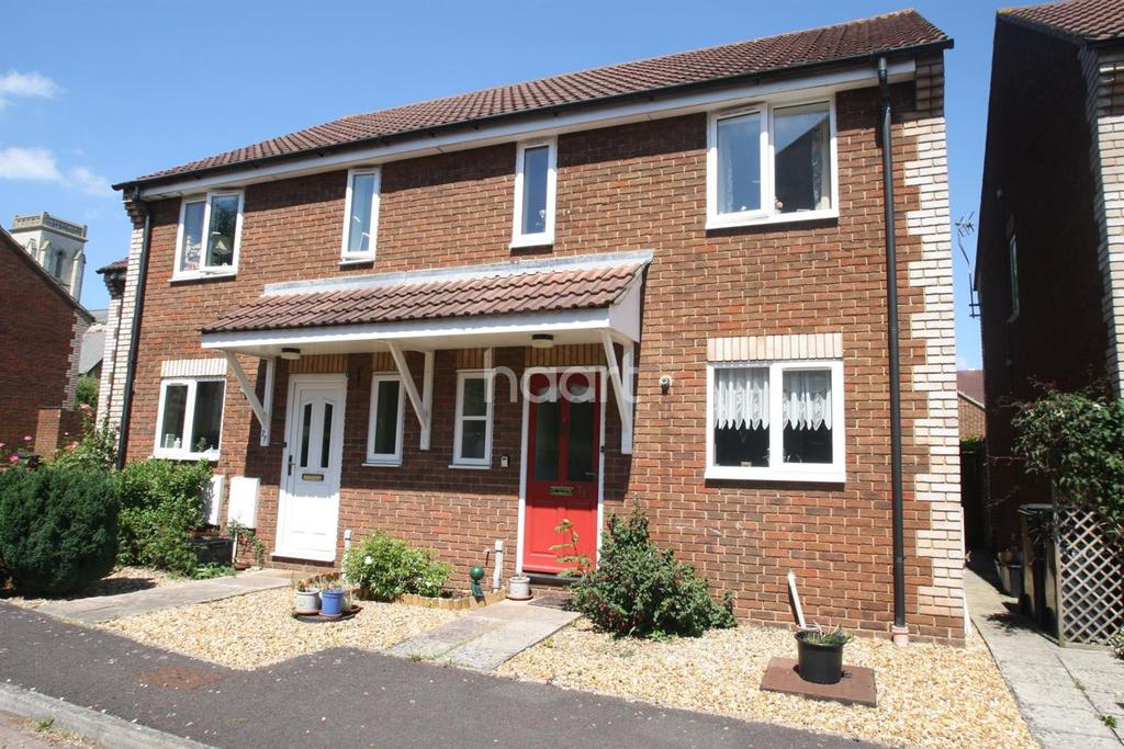 3 Bedrooms Semi Detached House for sale in Trinity, Taunton