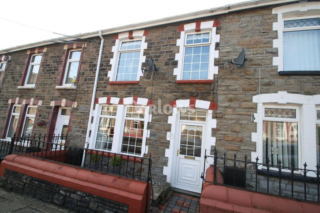 3 Bedrooms Terraced House for sale in Woodville Road, Cwm, Ebbw Vale, Gwent