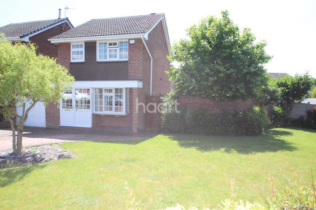 3 Bedrooms Detached House for sale in Grampion Drive, Warren Wood, Nottingham