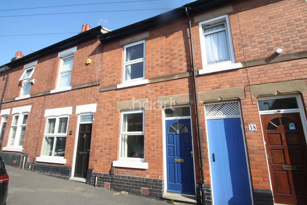 2 Bedrooms Terraced House for sale in Sherwin Street, Derby