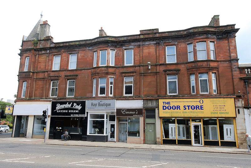 1 Bedroom Flat for sale in 28C Main Street, Ayr, KA8 8EB