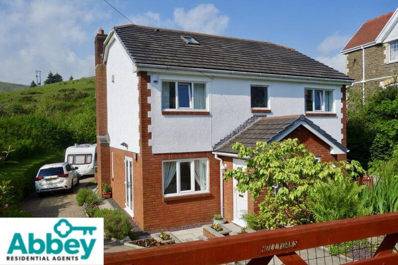 4 Bedrooms Detached House for sale in Holly Oaks, Varteg Row, Port Talbot, SA13 2RF