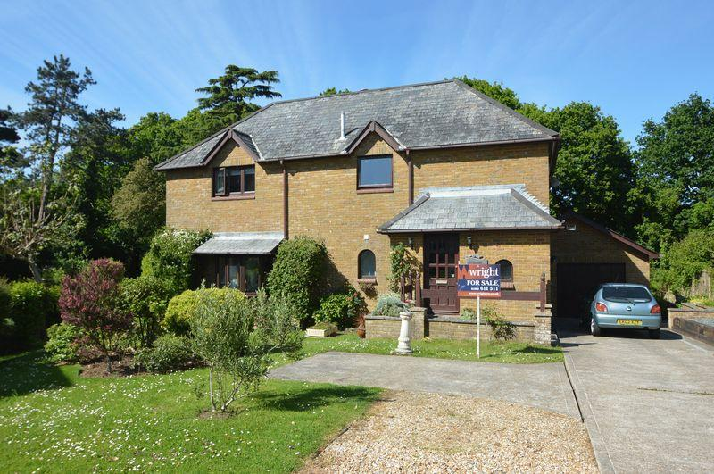 4 Bedrooms Detached House for sale in QUARR, BINSTEAD
