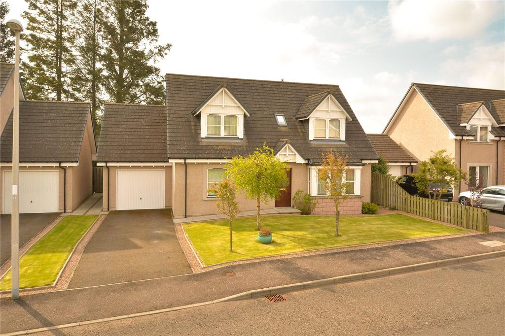 4 Bedrooms Detached House for sale in Lochside Place, Edzell, Brechin, Angus, DD9