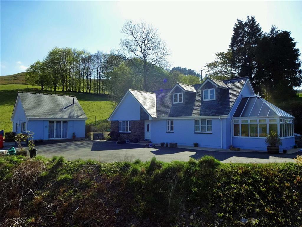 5 Bedrooms Detached Bungalow for sale in Ty Barcud, Llywernog, Ponterwyd, Aberystwyth, SY23