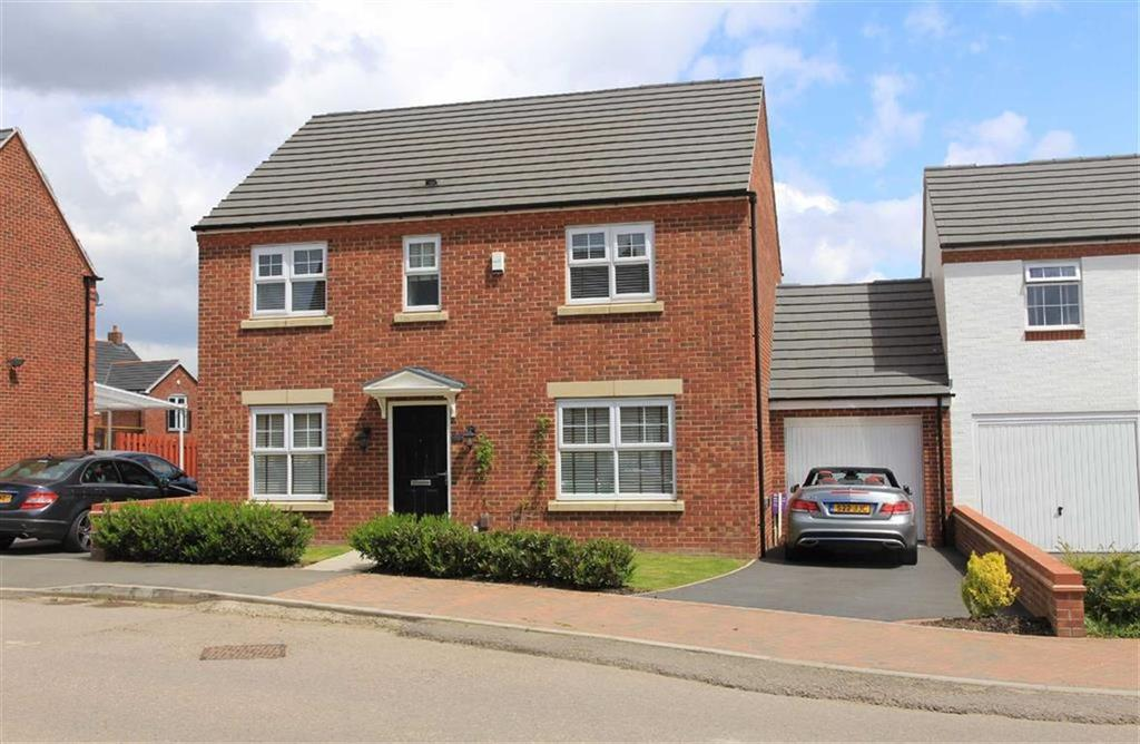 4 Bedrooms Link Detached House for sale in Bosworth Way, Leicester Forest East, Leicester