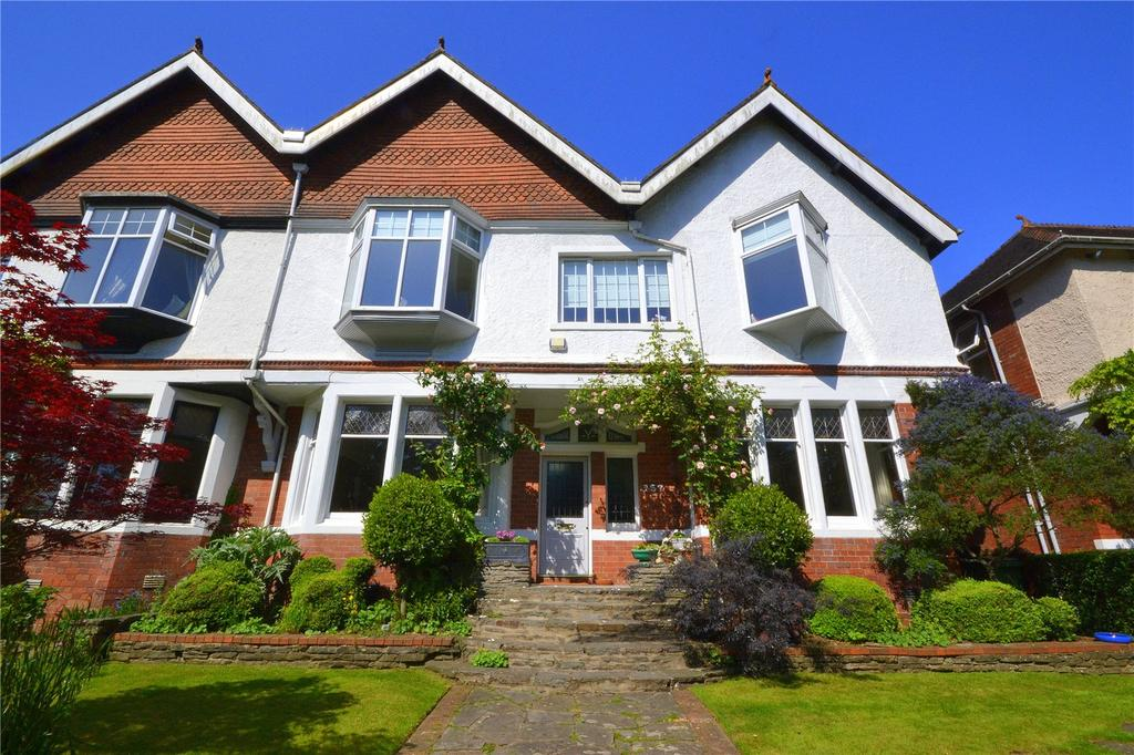 5 Bedrooms Semi Detached House for sale in Lake Road West, Roath Park, Cardiff, CF23