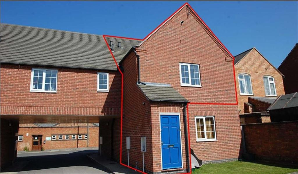 1 Bedroom Apartment Flat for sale in Clumber Court, Ratby, Leicestershire