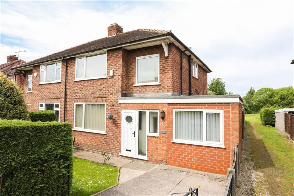 3 Bedrooms Semi Detached House for sale in Bollington Road, Heaton Chapel