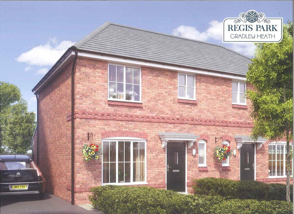 3 Bedrooms Semi Detached House for sale in Regis Park, Off Doulton Road, Rowley Regis