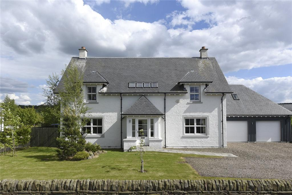 4 Bedrooms Detached House for sale in Clathymore Drive, Tibbermore, Perthshire