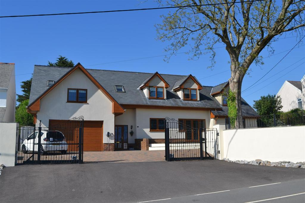 6 Bedrooms Detached House for sale in Joiners Road, Three Crosses, Swansea
