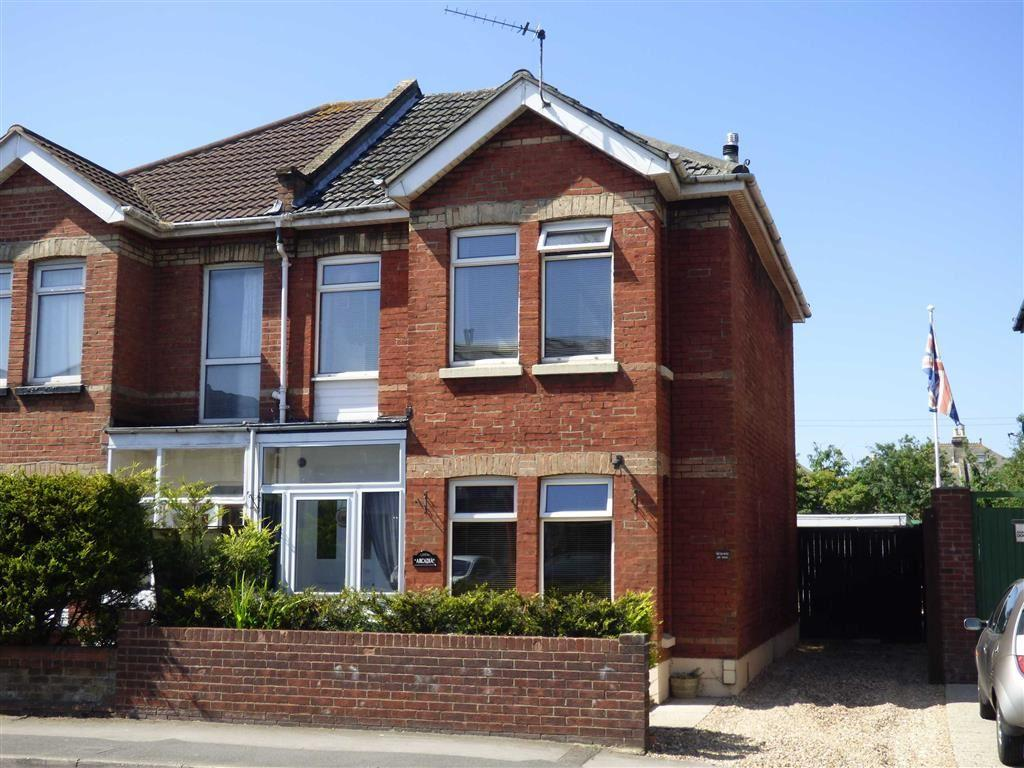 3 Bedrooms Semi Detached House for sale in Ashley Road, Bournemouth, Dorset