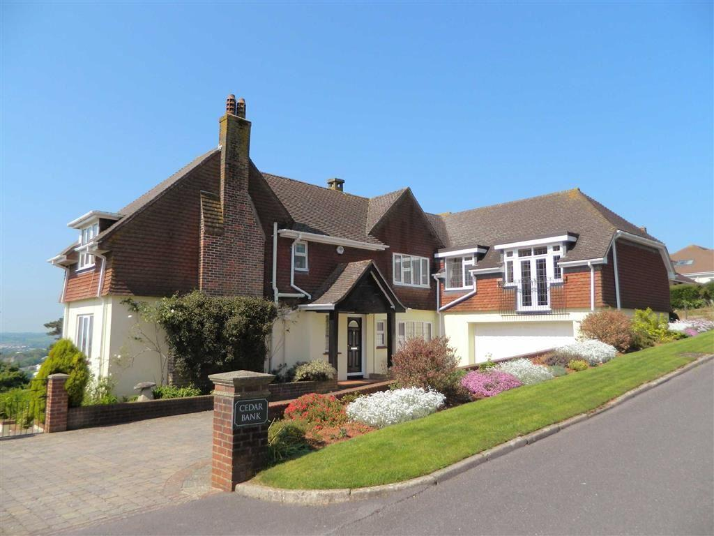 5 Bedrooms Detached House for sale in Watcombe Heights Road, Torquay, TQ1