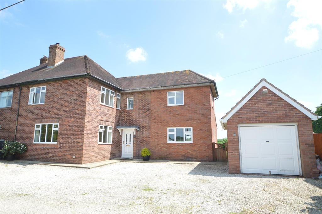 4 Bedrooms Semi Detached House for sale in 1 Rossall New Cottage, Isle Lane, Bicton, Shrewsbury SY3 8DZ