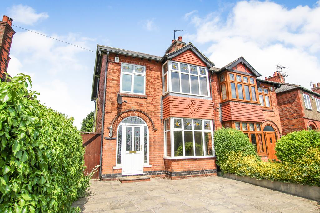 3 Bedrooms Semi Detached House for sale in Sleetmoor Lane, Somercotes, Derbyshire DE55