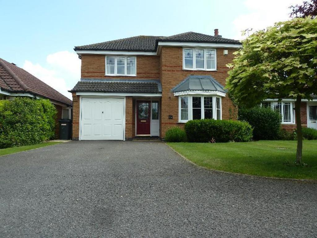 4 Bedrooms Detached House for sale in Oxford Drive Melton Mowbray