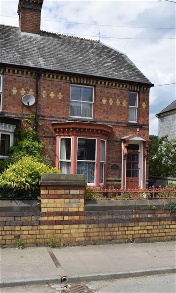 2 Bedrooms Semi Detached House for sale in Green Side, 47, New Road, Newtown, Powys, SY16