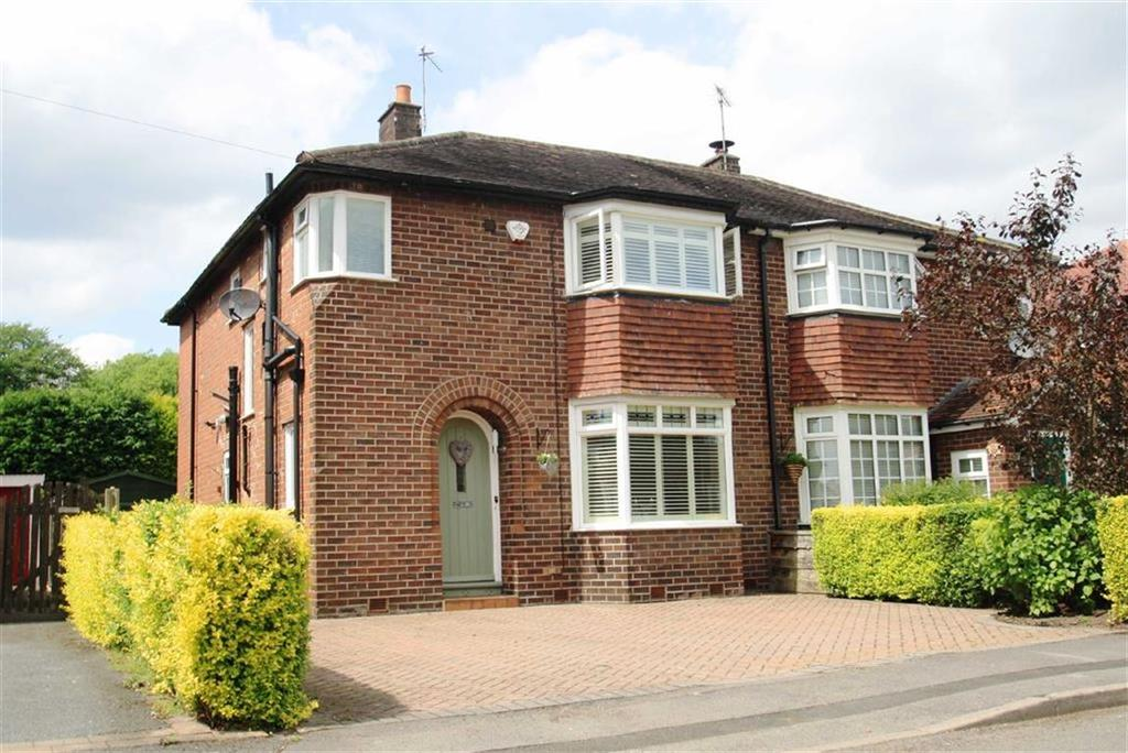3 Bedrooms Semi Detached House for sale in Davehall Avenue, Wilmslow