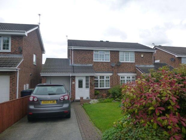 2 Bedrooms Semi Detached House for sale in HELMESLEY COURT, WITHERWACK, SUNDERLAND NORTH