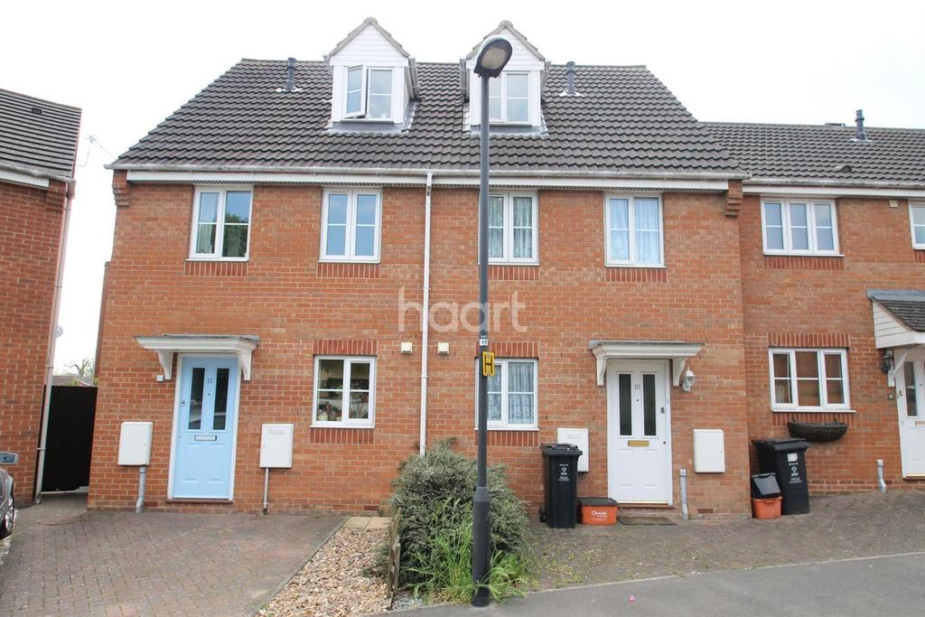 3 Bedrooms End Of Terrace House for sale in St Margartes Chase