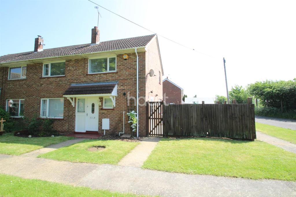 3 Bedrooms Semi Detached House for sale in Westmoreland Avenue, Scampton, LN1