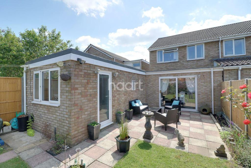 3 Bedrooms Semi Detached House for sale in Stylish and extended in Stopsley