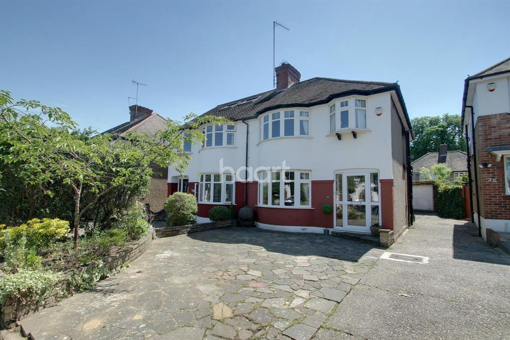 3 Bedrooms Semi Detached House for sale in Elmer Close, Enfield