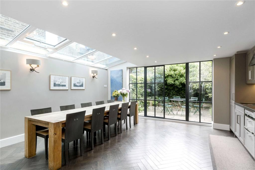 4 Bedrooms Terraced House for sale in Elthiron Road, Fulham, London, SW6