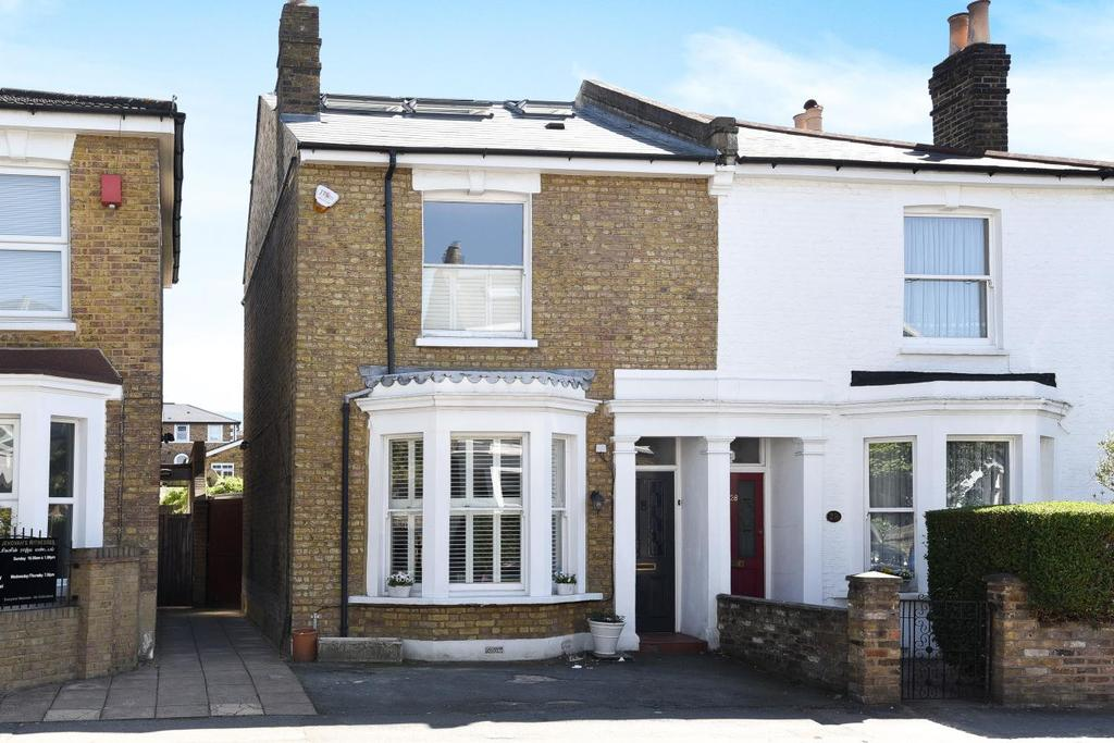 4 Bedrooms Semi Detached House for sale in Gladstone Road, Wimbledon, SW19
