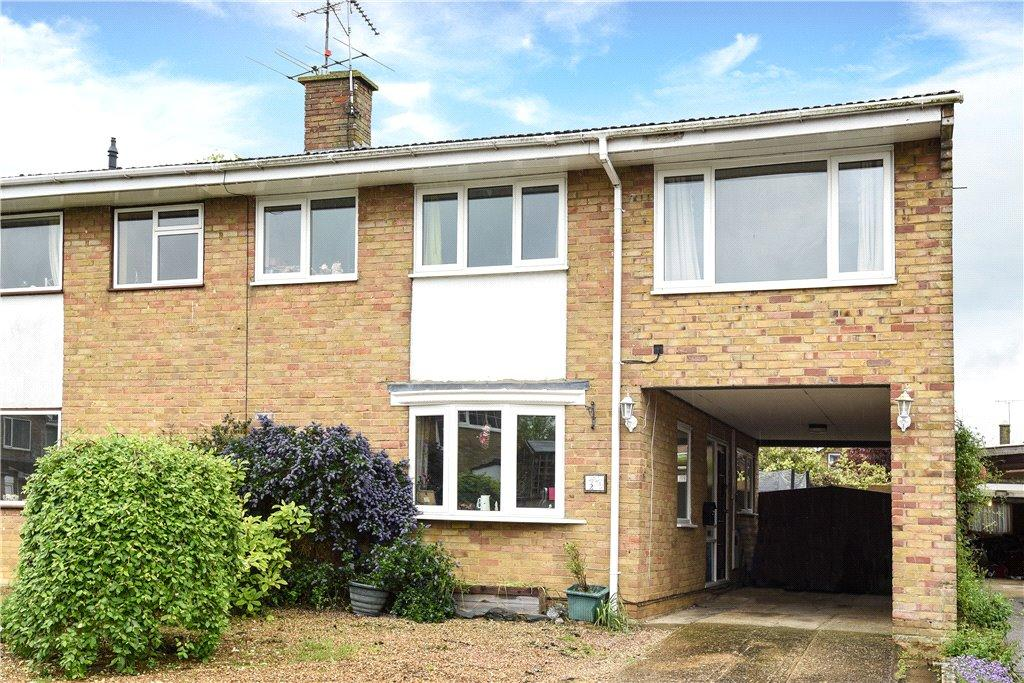 4 Bedrooms Semi Detached House for sale in Highcroft Close, Yardley Gobion, Towcester, Northamptonshire