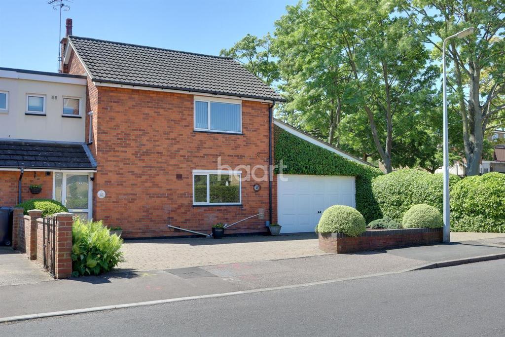3 Bedrooms End Of Terrace House for sale in Oakfields, Broadwater, Stevenage