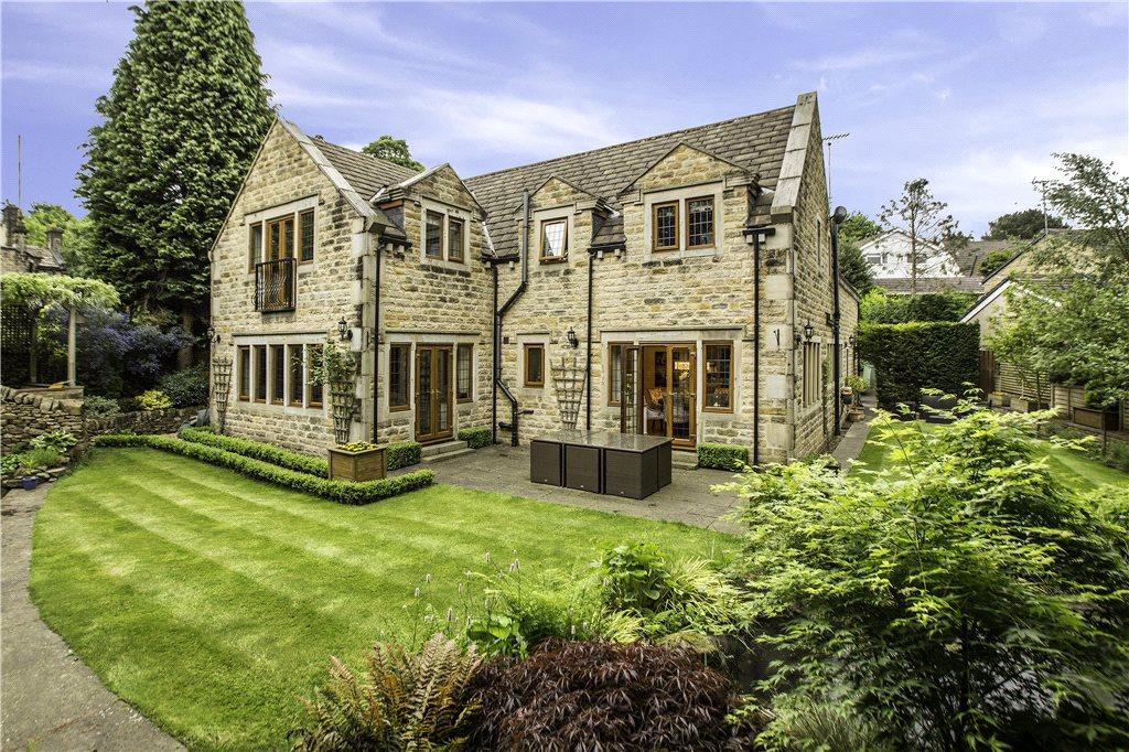 5 Bedrooms Detached House for sale in Gilstead Lane, Gilstead, Bingley, West Yorkshire
