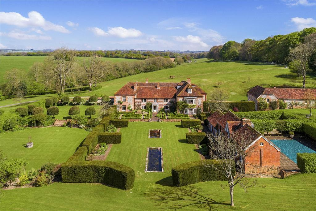 8 Bedrooms Country House Character Property for sale in Biddesden, Andover, Hampshire