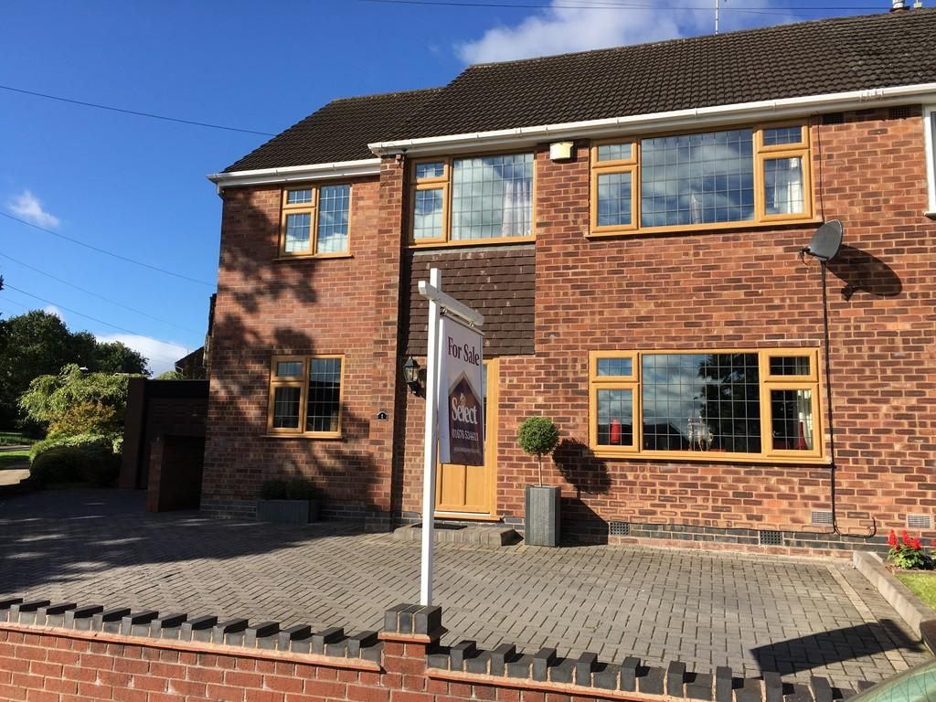 5 Bedrooms Semi Detached House for sale in Wilmcote Green, Mount Nod